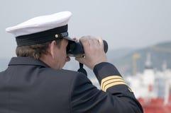Officier de navigation Photos stock