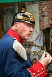 Officier prussien image libre de droits