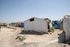 officieus vluchtelingskamp in Reyhanli Royalty-vrije Stock Afbeelding