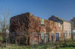Officina abbandonata ed abbandonata Fotografia Stock Libera da Diritti