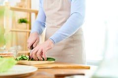 Officina culinaria di conduzione Immagini Stock