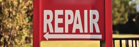 Officina riparazioni e centro di servizio Immagini Stock Libere da Diritti