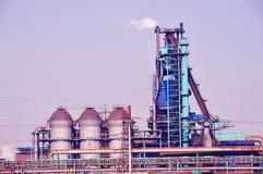 Officina siderurgica e del ferro Fotografia Stock