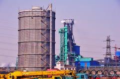 Officina siderurgica e del ferro Fotografie Stock Libere da Diritti