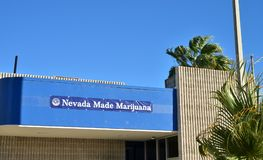 Officine récréationnelle de ventes de Nevada Made Marijuana image stock
