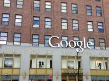 Offies New York de Google Imagens de Stock