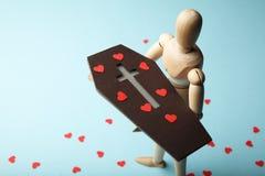 E Tristesse et perte de aim? death photo libre de droits