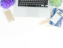 Offise skrivbordsplats Royaltyfria Bilder