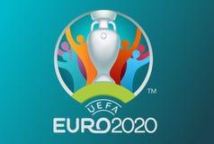 Offizielles Logodesign der Fußballschale lizenzfreie abbildung