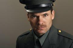 Offizier in der Armee lizenzfreie stockfotos