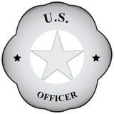 Offizier des abstrakten Symbols Lizenzfreie Stockfotos