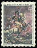 Offizier von chasseurs durch Theodore Gericault Stockbilder