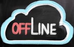 Offline Concept Stock Image