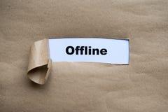 Offline Stock Photo