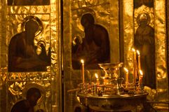 Offra in su una preghiera fotografie stock libere da diritti
