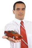 offre d'emprunt de véhicule Images libres de droits