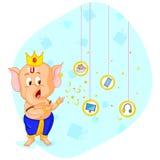 Offre heureuse de vente de Ganesh Chaturthi Photo stock