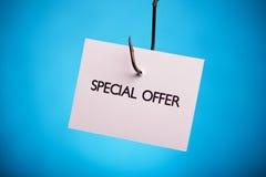 Offre spéciale ! Image stock