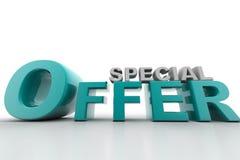 Offre spéciale Photographie stock