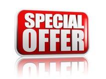 Offre spéciale Photos stock