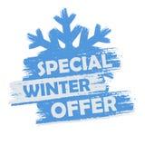 Offre spéciale d'hiver Photo stock