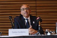Offre unie pour accueillir le délégué 2016 de _usa de coupe du monde de la FIFA Image libre de droits
