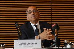 Offre unie pour accueillir le délégué 2016 de _usa de coupe du monde de la FIFA Photo libre de droits