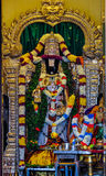 Offrendo al tempio indù a Batu scava, la Malesia Fotografie Stock Libere da Diritti