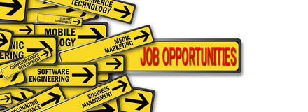 Offres d'emploi Photos stock