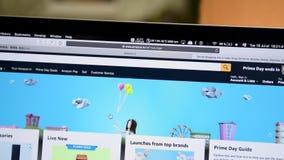 Offres spéciales de jour d'Amazone Inde de minuterie principale de compte à rebours banque de vidéos