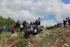 Offroad конкуренция Smolyan 4x4 Болгария - Smolyan Стоковое фото RF