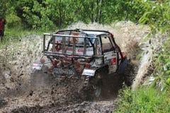 Offroad конкуренция Smolyan 4x4 Болгария - Smolyan Стоковые Фотографии RF