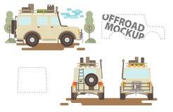 Offroad модель-макет Иллюстрация штока