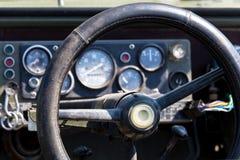 Offroad рулевое колесо корабля Стоковое фото RF