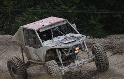 Offroad all terrain racing car Stock Photo