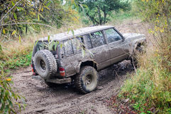 Offroad. An offroad all terrain vehicle Stock Image