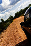 Offroad in Australia. Offroad to Alice Springs from Kings Canyon Royalty Free Stock Image