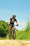 Offroad Bicyclist Royalty Free Stock Image