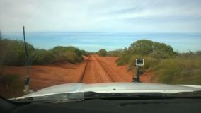 Offroad. In cape leveque, Western Australia Royalty Free Stock Photo