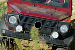 Offroad car royalty free stock photography