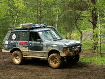 Offroad car Stock Images