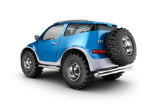 Offroad car concept. My own design. Royalty Free Stock Images