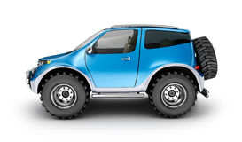 Offroad car concept. My own design. Royalty Free Stock Photo