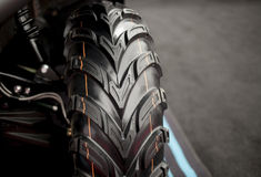 Offroad car tire detail Stock Images