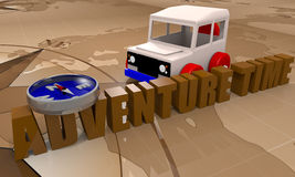 Offroad car toy Stock Photo