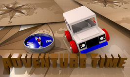 Offroad car toy Royalty Free Stock Photography