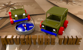 Offroad cars toy Stock Image