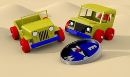 Offroad cars toy Royalty Free Stock Photography