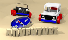 Offroad cars toy Stock Photos