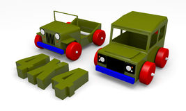 Offroad cars toy Royalty Free Stock Photo